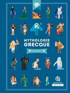 """Afficher """"Mythologie grecque - carnet"""""""