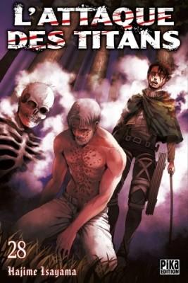 "Afficher ""L'Attaque des titans n° 28 L'attaque des titans"""
