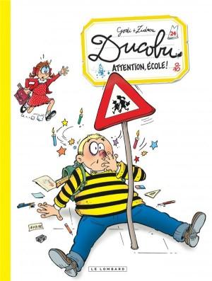 """Afficher """"L'élève Ducobu n° 24 Attention, école !"""""""