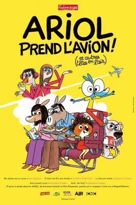 """Afficher """"Ariol Ariol prend l'avion ! Et autres têtes en l'air"""""""