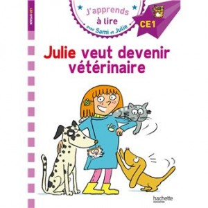 """Afficher """"J'apprends à lire avec Sami et Julie Julie veut devenir vétérinaire"""""""