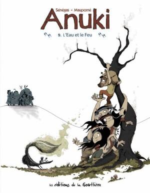"""Afficher """"Anuki n° 09 L'eau et le feu"""""""