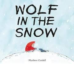 "Afficher ""Wolf in the snow"""