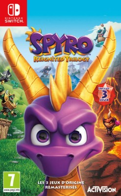 "Afficher ""SPYRO REIGNITED TRILOGY"""