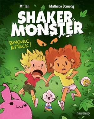 """Afficher """"Shaker Monster n° Tome 4Bivouac attack !"""""""