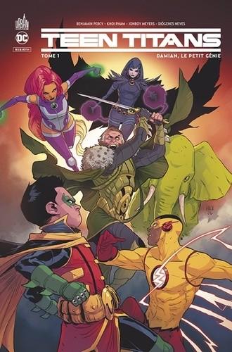 Teen Titan Rebirth n° 1 Damian, le petit génie