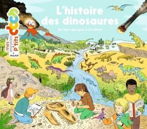"""Afficher """"L'Histoire des dinosaures de leur époque à la nôtre"""""""