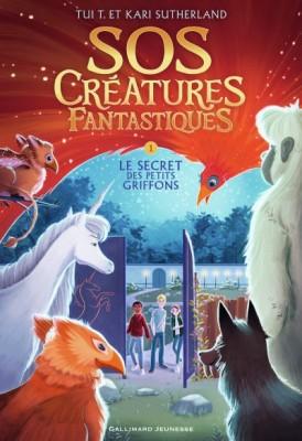 """Afficher """"SOS créatures fantastiques T1. Le Secret des petits griffons"""""""