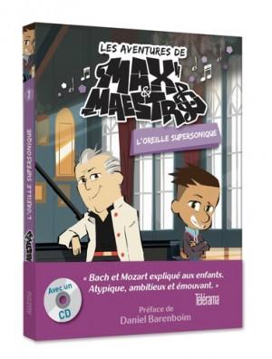 """Afficher """"Aventures de Max Maestro (Les) n° 1 Oreille supersonique (L')"""""""