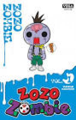 Couverture de Zozo zombie n° 1
