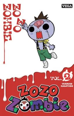 Couverture de Zozo zombie n° 2