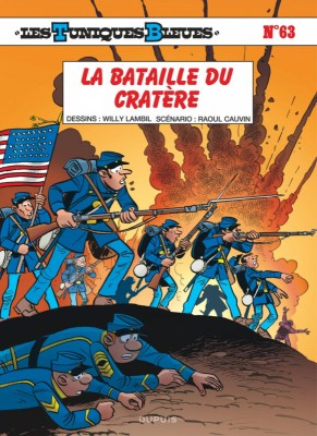 """Afficher """"Les Tuniques bleues n° 63 La Bataille du cratère"""""""
