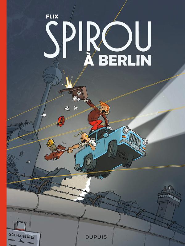 Le Spirou de Flix Spirou à Berlin