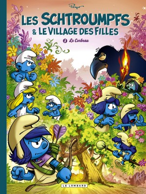 """Afficher """"Les Schtroumpfs et le village des filles n° 03 Le Corbeau"""""""