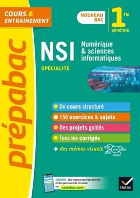 """Afficher """"Numérique et sciences informatiques 1re spécialité"""""""