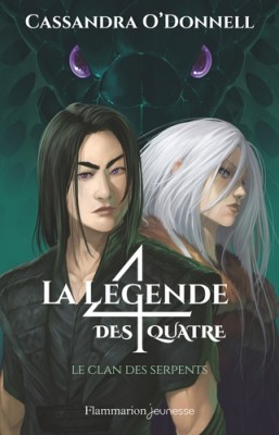 "Afficher ""La légende des quatre n° 3 Le clan des serpents"""