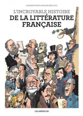 """Afficher """"L'incroyable histoire de la littérature française"""""""