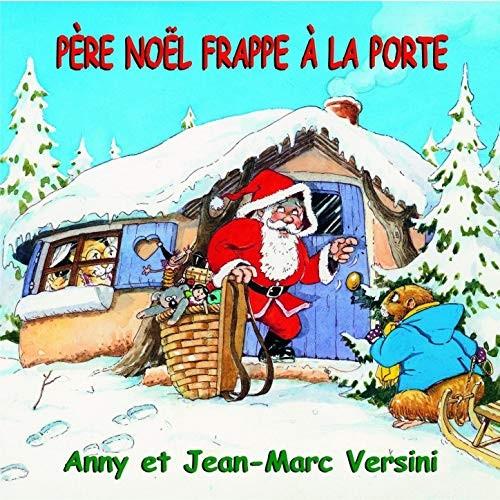 Père Noël frappe à la porte