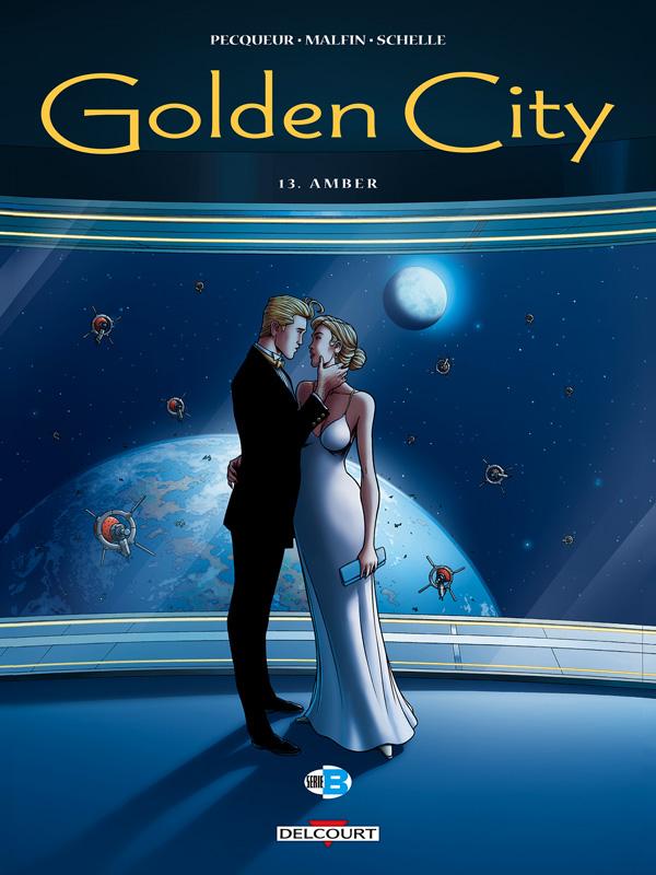 Golden city.