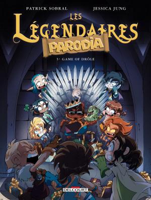 """Afficher """"Les Légendaires : Parodia n° 05 Game of drôle"""""""
