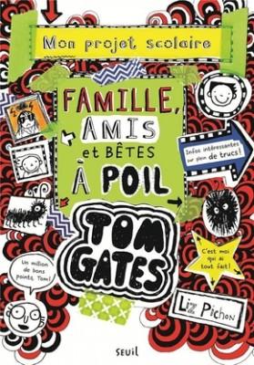 """Afficher """"Tom Gates T12. Famille, amis et bêtes à poil"""""""