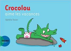 Couverture de Crocolou aime les vacances