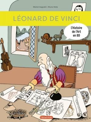 Couverture de L'histoire de l'art en BD n° 3 Léonard de Vinci : Histoire de l'Art en BD