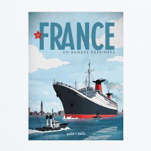 Couverture de France en bandes dessinées : 12 ans de raffinement à la française