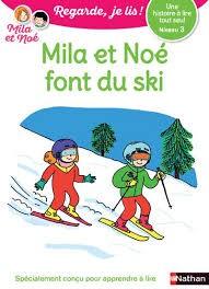 "Afficher ""Mila et Noé font du ski"""