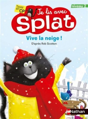 "Afficher ""Je lis avec Splat Vive la neige !"""