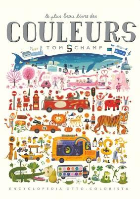 vignette de 'Le plus beau livre des couleurs (Tom Schamp)'