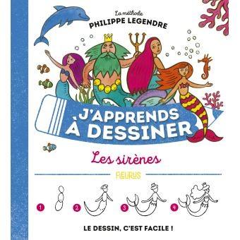 """Afficher """"J'apprends à dessiner n° 54 Les sirènes"""""""