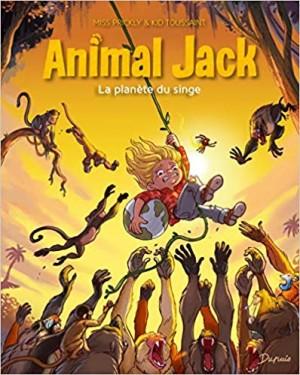 Couverture de Animal Jack n° 3 La planète du singe