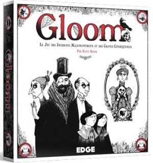 Couverture de Gloom : Le jeu des incidents malencontreux et des graves conséquences