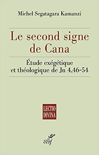 Le second signe de Cana