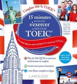 """Afficher """"15 minutes par jour pour s'exercer au nouveau TOEIC"""""""