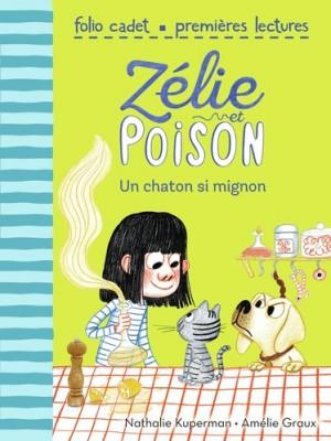 """Afficher """"Zélie et Poison n° 8Un chaton trop mignon"""""""
