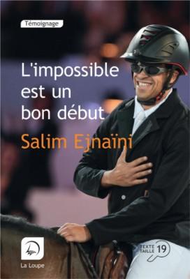 """Afficher """"L'impossible est un bon début"""""""