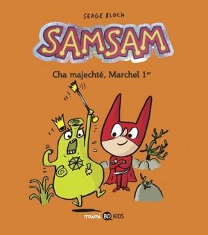 """Afficher """"SamSam n° 5Cha majechté, Marchel 1er"""""""