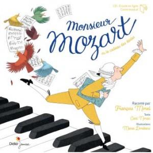 """Afficher """"Monsieur Mozart ou Le cadeau des étoiles"""""""