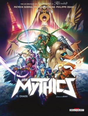Couverture de Les mythics n° 10 Chaos