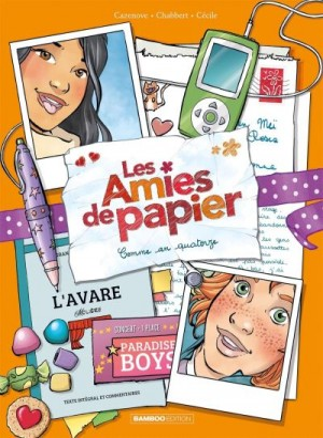 """Afficher """"Les Amies de papier n° 4 Comme an quatorze"""""""
