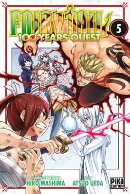 Couverture de Fairy Tail 100 years quest n° 5