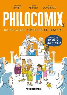 """Afficher """"Philocomix n° 2Philocomix n° 2Philocomix n° 2Dix nouvelles approches du bonheur"""""""