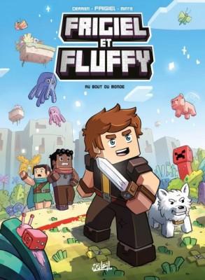 Couverture de Frigiel et Fluffy n° 8 Au bout du monde