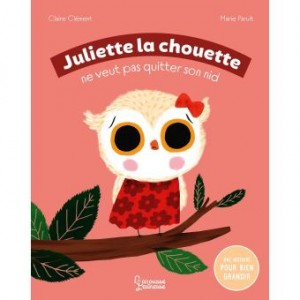 """Afficher """"Juliette la chouette ne veut pas quitter son nid"""""""