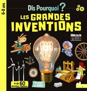 Couverture de Les grandes inventions : 6-8 ans