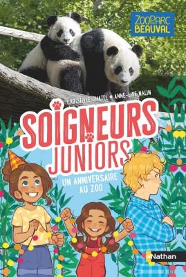 """Afficher """"Soigneurs juniors - tome 1 un anniversaire au zoo - vol01"""""""