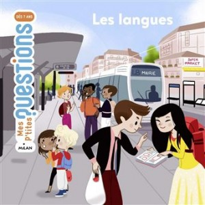 Couverture de Les langues