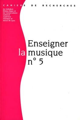 """Afficher """"Revue Enseigner la musique numéro 5"""""""